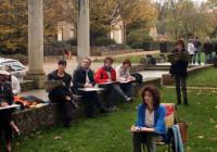 Cours d'Arts Plastiques : à la découverte du cloître du Thabor