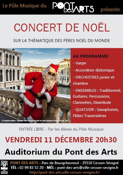 Concert de Noel - Pole musique - Credit Gaffiero