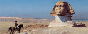 1 Jean-Léon Gérôme, Bonaparte devant le Sphinx, 1867-1868, Hearst Castle, Sans Simeon-Californie