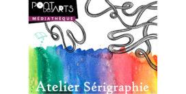 Atelier sérigraphie | mercredi 26 juillet de 10h30 à 12h | Médiathèque